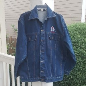 Platinum men's denim jacket sz 32